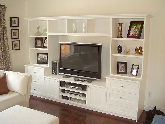 Built in entertainment units photos joy studio design How to build an entertainment wall unit